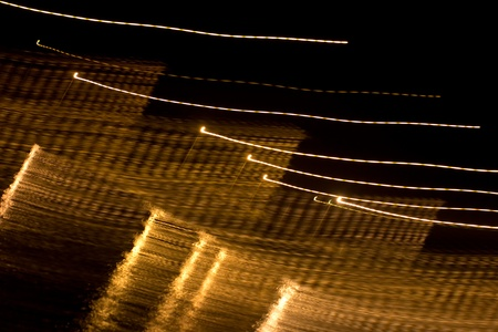 abstract background of light lantern night photo