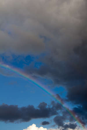 rainbow in the sky on the nature Stock Photo - 21334381