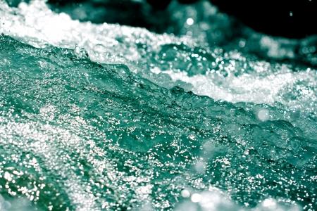 abstracte achtergrond van het water Stockfoto