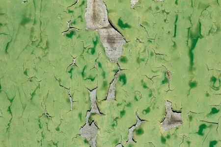 abstract background of old green paint on the metal surface Stock Photo - 21891354