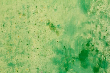 abstract background of old green paint on the metal surface