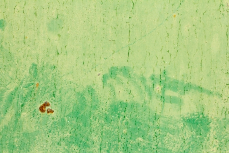 abstract background of old green paint on the metal surface Stock Photo - 22148569