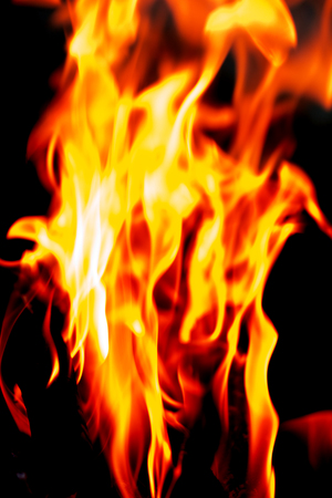 flame of fire as the background Stock Photo - 22378419