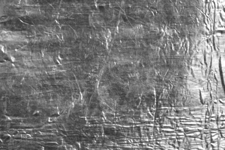 crinkled: background from a foil Stock Photo