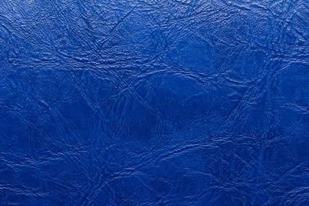 background of blue leather photo
