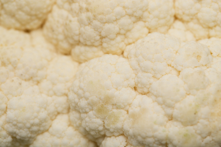 background of cauliflower. macro photo