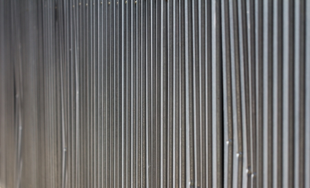 metal fence as a backdrop photo