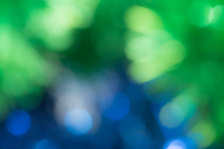 abstract blue and green bokeh. texture photo