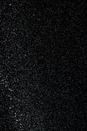Drops of rain on a black background