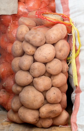 sack of potatoes photo
