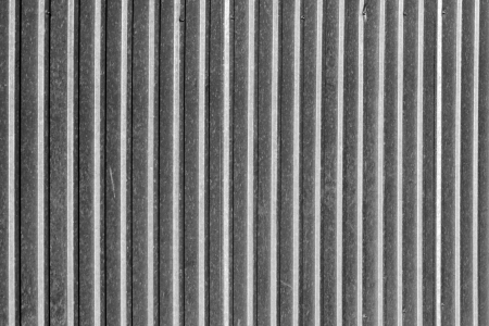 corrugated iron: background of galvanized fence Stock Photo