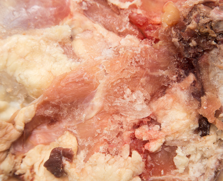 background of chicken meat. macro photo