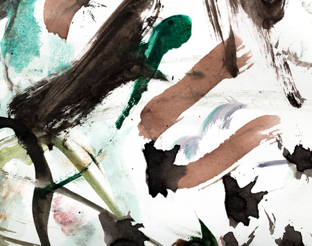 abstract drawing with watercolors Stock Photo - 25231294