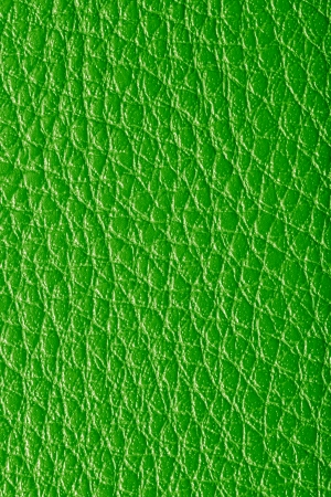 background of green leather photo