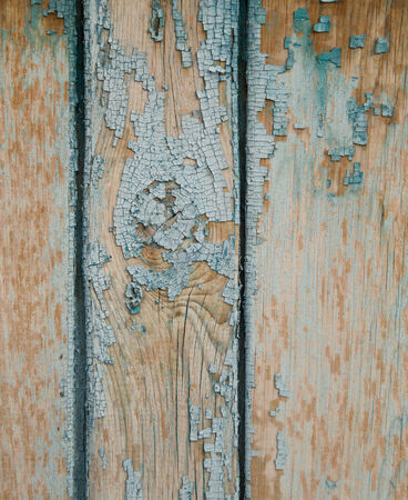 Old painted wooden background photo