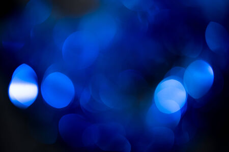 abstract background of beautiful blue bokeh festive photo