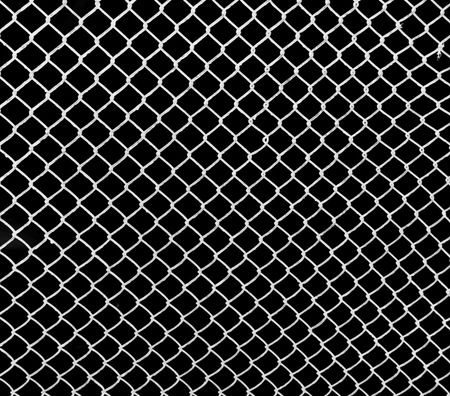 white grid on a black background Banco de Imagens - 25801598