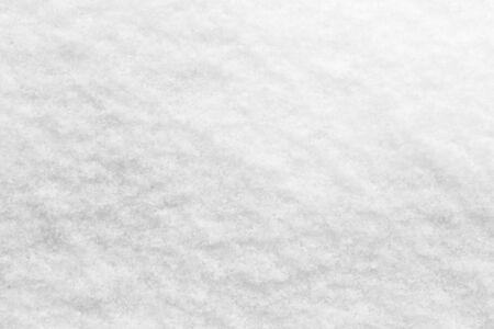 crushed ice: abstract background of white snow Stock Photo