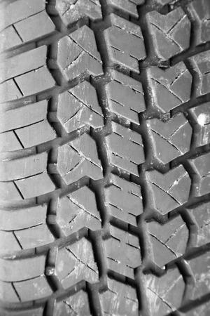 tire tread: Background of the tire tread