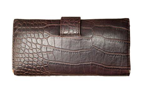 change purse: purse on a white background