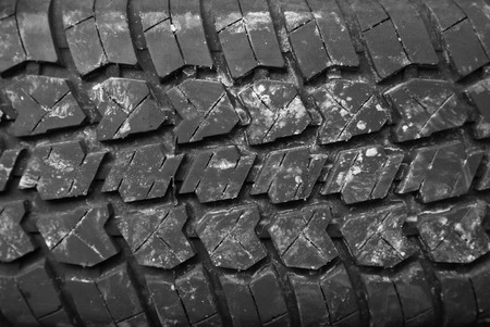 Background of the tire tread Stock Photo - 26318767