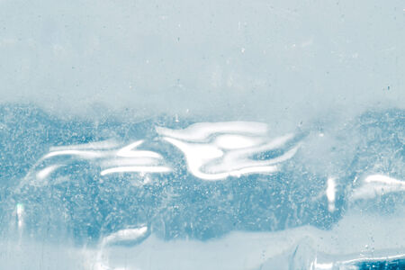 abstract background of blue ice photo