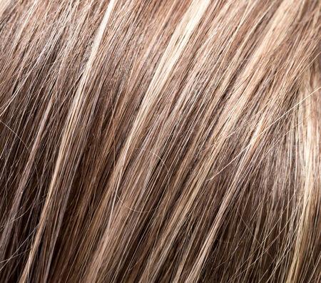 womens hair. macro