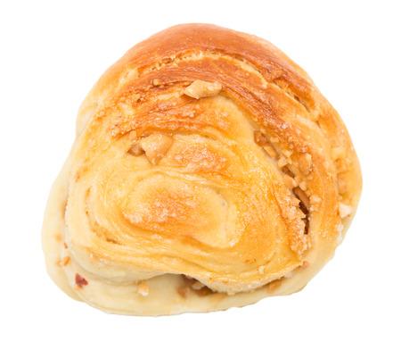 bun on a white background photo
