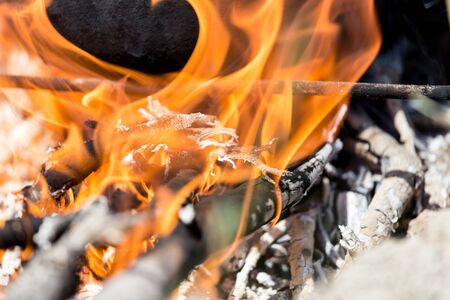 glut: fire from firewood