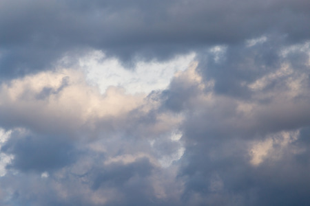clouds after a thunderstorm photo