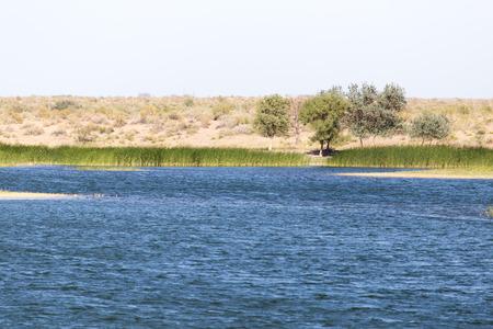 lake in Kazakhstan photo