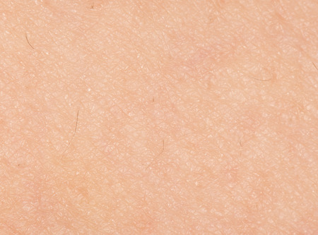 human skin as a background. close-up