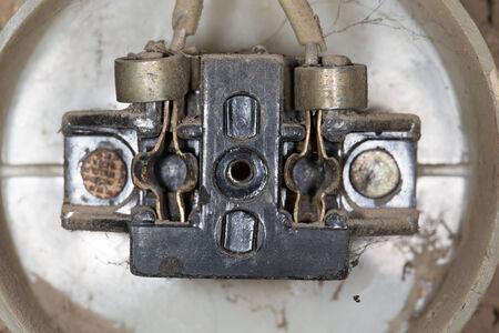 old socket electricity photo