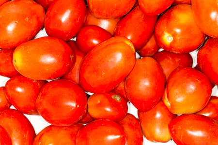 domates: Ripe tomatoes at the market