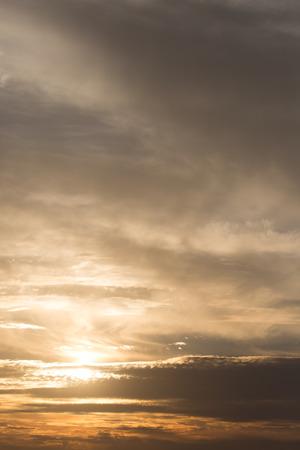 meteo: beautiful sunset