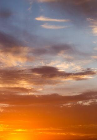 crepuscle: beautiful sunset
