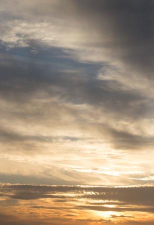 stratus: beautiful sunset