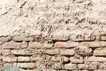 background of an old brick wall photo