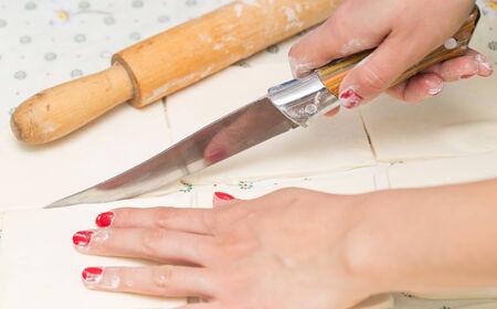 the dough: rodando masa