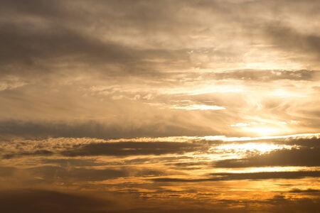 dark blue background: beautiful sunset