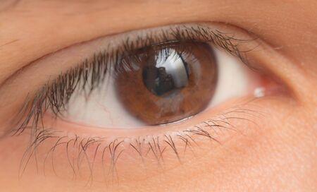 ojos hermosos: ojo. de cerca