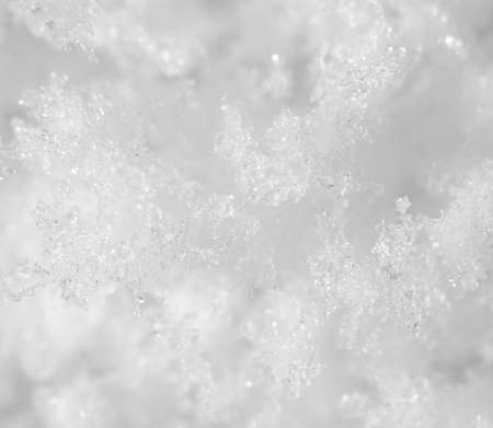 super macro: snowflakes. super macro Stock Photo