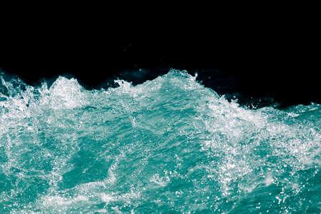 Immagini Stock Onda Di Mare Su Sfondo Nero Image 37366765