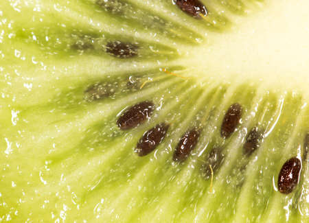 super macro: kiwi as a background. super macro