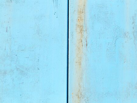 background of metal painted blue Stock Photo