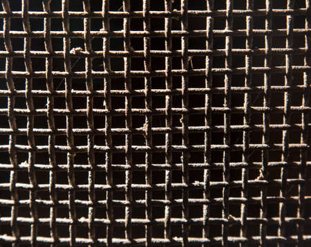 malla metalica: fondo de malla metálica oxidada vieja
