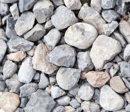 ballast: Stone rubble Stock Photo