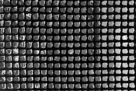 metal mesh: background of old rusty metal mesh