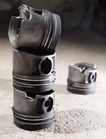 pitman: Piston motor vehicle