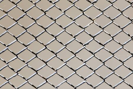 penal system: background rusty grid